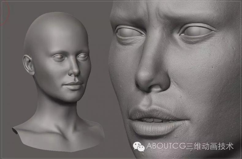 030_ABOUTCG微资讯第三十期:Digital Character Study1066