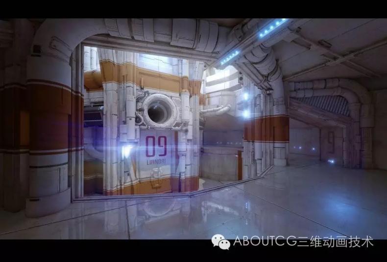035_ABOUTCG微资讯第三十五期:虚幻竞技场Outpost 23关卡的制作1030