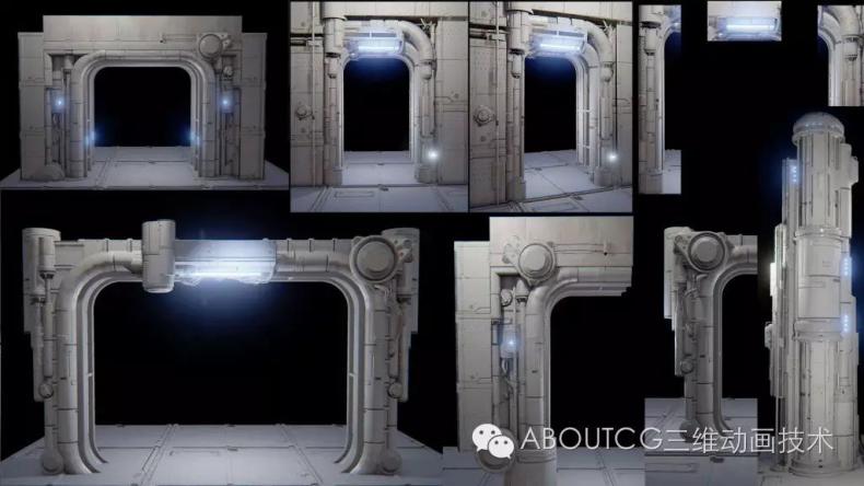 035_ABOUTCG微资讯第三十五期:虚幻竞技场Outpost 23关卡的制作1032