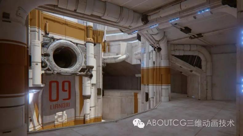 035_ABOUTCG微资讯第三十五期:虚幻竞技场Outpost 23关卡的制作1305