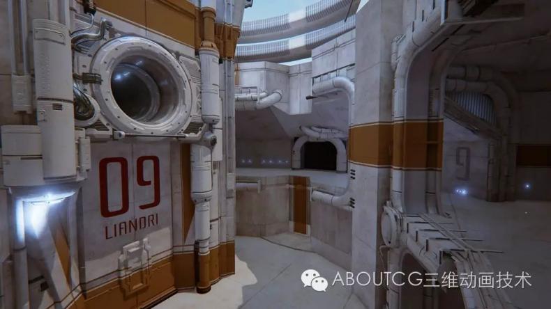 035_ABOUTCG微资讯第三十五期:虚幻竞技场Outpost 23关卡的制作1309