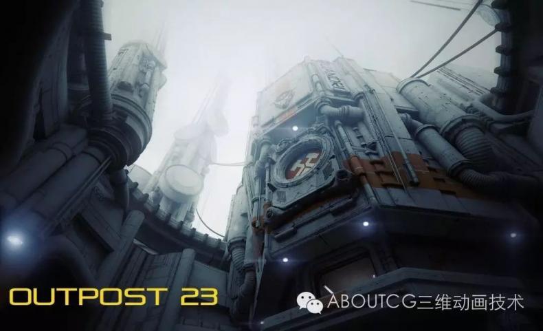 035_ABOUTCG微资讯第三十五期:虚幻竞技场Outpost 23关卡的制作2345