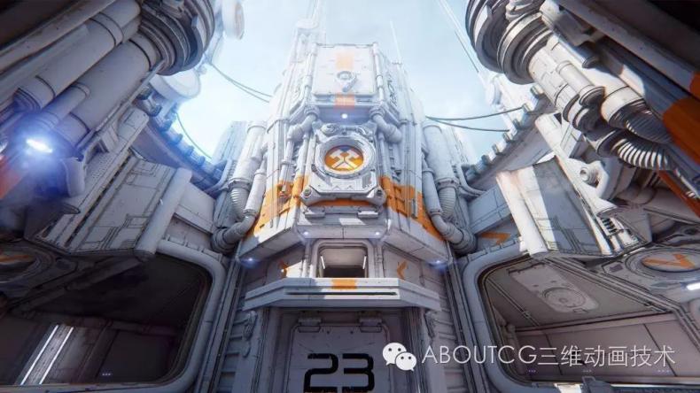 035_ABOUTCG微资讯第三十五期:虚幻竞技场Outpost 23关卡的制作265
