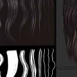 zbrush毛发贴图制作流程