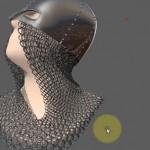 使用maya的MASH和Ncloth功能制作锁子甲