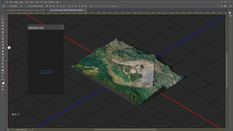 3D Map Generator Atlas - Photoshop地形生成器| ABOUTCG资讯速递