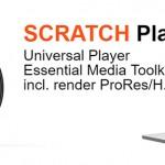 万能专业RAW与VR播放转码工具Scratch Player Pro发布