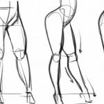 性感女性大腿绘制方法