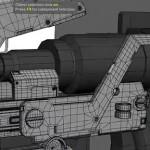 maya硬表面建模演示教程 2