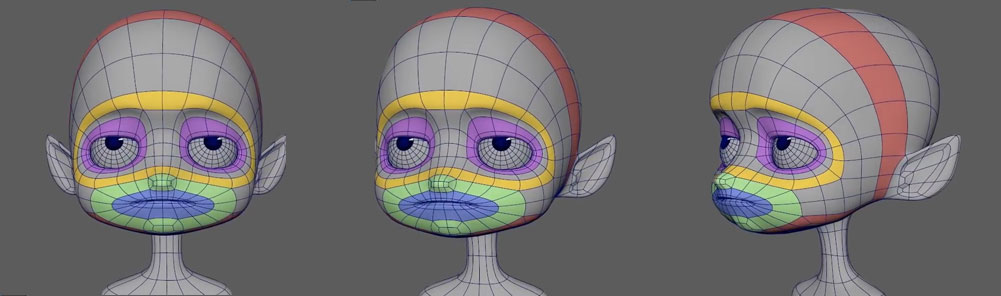 3D-Modeling-Tutorial--Modeling-a-stylized-Character-head-in-maya-2019