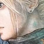 最终幻想VII水彩画过程