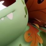 使用ZBrush和Blender制作一个妙蛙种子