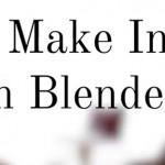 如何在Blender中制作室内效果图
