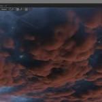 在Blender里两分钟制作一个写实的乌云效果