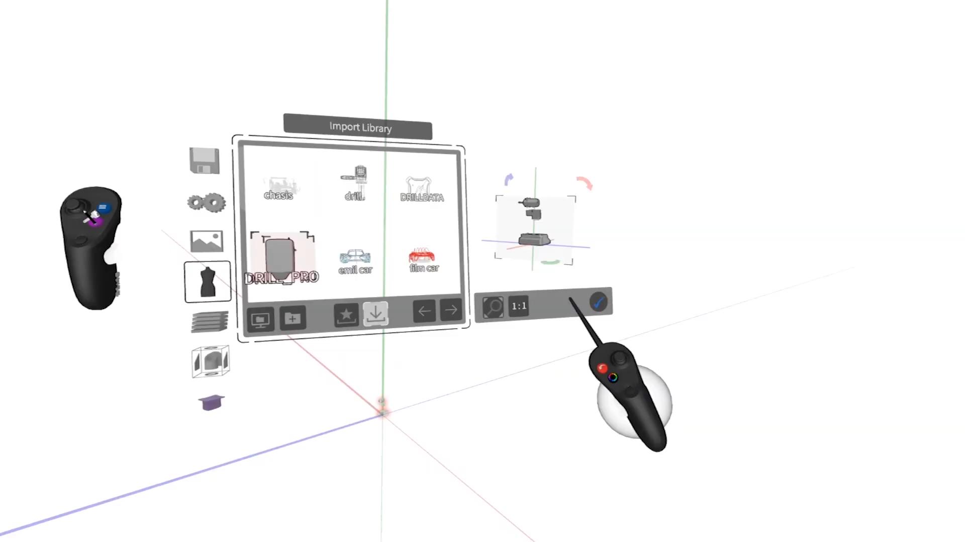 VR建模软件Gravity Sketch现在免费开放