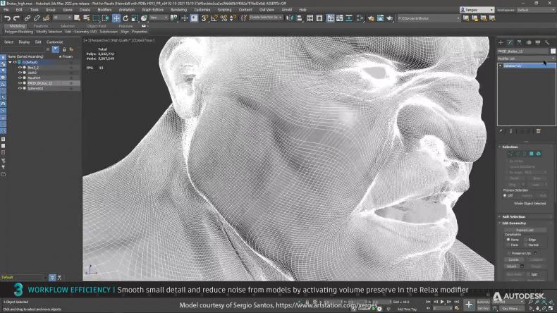 Autodesk发布3DsMax2022