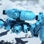 Embark发布了基于AI学习的自动行走动画片段